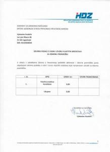 izjava Vjekoslav Hudolin